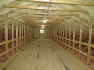 45' Truss with 11'10''x7'8'' Attic room