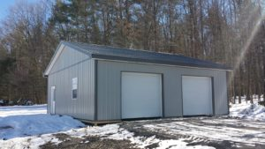 32x32x10 garage in Dundee, NY
