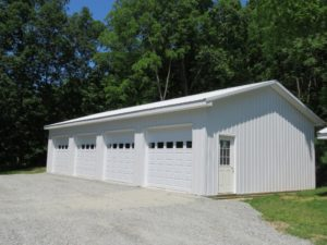 Hammondsport NY 24x50x10 pole building