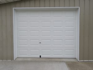 10x8 CHI model #2240 keyed exterior lock