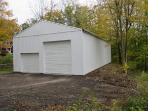 30x60 re side, with Brite White siding_ Marion, NY