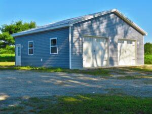 32x30 Garage_Penn Yan, NY_Keuka Valley Builders