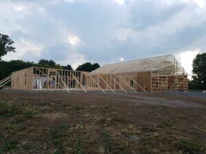House Framing_Manchester, NY_Keuka Valley Builders